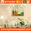 Damask Wall Paper Wallcovering Vinyl Hotel
