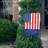 Wholesale Cheap Decorative Garden Pole Flag with Metal Stand