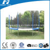 14FT Round Big Trampoline with Enclosure
