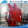 3t@15m Foldable Boom Ship Deck Provision Cranes