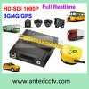 1080P 4 Channel Car Security System with WiFi Mobile DVR & HD Sdi Camera