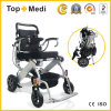 Topmedi Medical Equipment Lightweight Folding Power Electric Wheelchair China