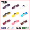 Ynjn Polarized Rimless Square Clip Sunglasses