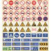 Road Symbol Board Temporary Construction Signs