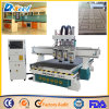 Factory Four Heads Four Process 1325 CNC Wood Carving Router