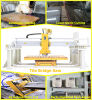 Bridge Saw for Cutting Granite Tiles with Miter Cut