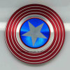New Style EDC Fidget Spinner American Flag Shield Finger Spinner Toys