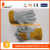 Ddsafety 2017 Cow Split Leather Gloves with Ce