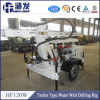 Trailer Type Portable Drilling Rig Hf120W