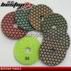 High Quality 5 Inch Dry Used Marble Stone Polishing Pad