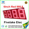 6inch LED Gas Price Changer Sign Display (NL-TT15F-2R-DR-4D-RED)