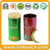 Round Metal Tea Tin for Tea Caddy with Food Grade