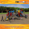 Romotional Commercial Plastic Playground Equipment Safety Mini Slides