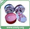 Decorative Round Cardboard Paper Hat Box with Lid (ZH001)