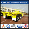 40FT Flatbed Semi Trailer with Rear Part Cut (SKD FORM)