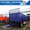 20 Tons Tractor Haul General Cargo Carrier Full Trailer for Sale