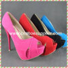 Hot Selling Fashion Ladies Leather High Heel Shoes Dress Shoes