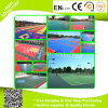 Outdoor Basketball Court Flooring Interlocking Tiles PP Interlock with Drainage System