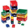 Plastic Box, Stackable Plastic Storage Bins (PK001)