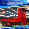 2 Axles Side Dump Semi Tipper Truck Trailer (LAT9404D)