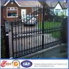 Ornamental Hot Galvanized Classical Wrought Iron Estate Gate/Door