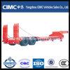 Cimc Low Bed Semitrailer Semi-Trailer Trailer Truck Trailer