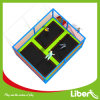 Mini Rectangular Toddler Trampoline with Safety Nets