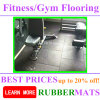Crossfit High Density Noiseproof Rubber Gym Flooring
