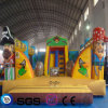 Popular style Cocowater Design Inflatable Pirate Castle for Children LG9051