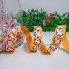 9mm Baseball Printed Grosgrain Ribbon, Yellow Ribbon Cartoon Hair Ornaments