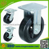 5 Inch Industrial Heavy Duty Rubber Caster Wheel Swivel