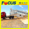 60m3/H Portable Concrete Mixing Plant with Truck Chassis