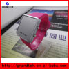 Custom Logo Fashion Round Case Plastic Jelly Watch