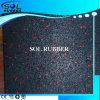 Ce Certificated Black with EPDM Flecks Gym Floor Tile