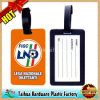 PVC Luggage Tag with SGS and RoHS Certification (TH-XLP008)