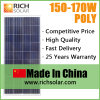 170W Polycrystalline Silicon Solar Panel TUV Certificate Solar Module Solar Cell