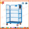 Metal Warehouse Wire Mesh Cage Storage Container (ZHra72)