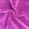 100% Polyester Bright Silk 14 Jacquard Flannel Fabric