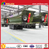 3 Axles U-Shaped Cargo Box Ore Transport End Tipper Semi Trailer