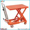 Manual Mobile Single Scissor Lift Table Ylf15