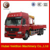 10 Ton Truck Crane/ Lorry-Mounted Crane with Telescopic Boom