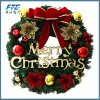 Aritificial Christmas Flower Wreath Wholesale