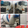 10~20ton Used 90%-New-Tires 6*4-LHD-Drive Japan-Exported Hino700 Concrete Mixer Truck (6~8CBM pump)