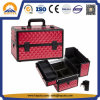 Red ABS Diamond Beauty Case (HB-2048)