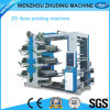 6 Color Non Woven Fabric/Paper Packing Bag Flexographic Printing Machine (RY)