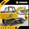 7 Ton Wyl70 Wheel Excavator with Xinchai Engine