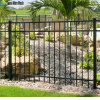 Square Pipe Security Galvanized Steel Fence for Commercial Site