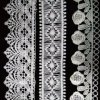 Hm Lace Factory Trim Lace Circle Heart Shape Embroidered Africa Lace Trimming