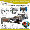 Corrugated Paper Produce Machine 2-Layer Single Facer Corrugated Kutu Machine Mjsgl-4