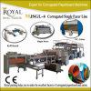 Corrugated Paper Produce Machine 2-Layer Single Facer Corrugated Kutu Machine Mjsgl-4